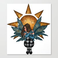 Giver of Light Canvas Print