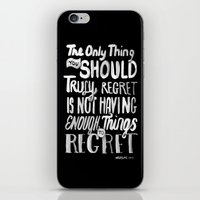 TRULY REGRET iPhone & iPod Skin