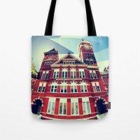 Samford Hall Tote Bag