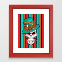 Day of the Dead Voodoo Lord Framed Art Print