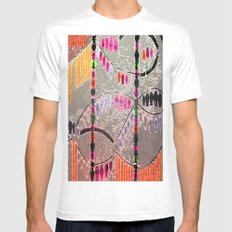 Jewels I Mens Fitted Tee SMALL White