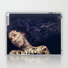 The Lines of a girl. Laptop & iPad Skin