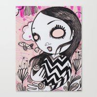 I Lost My Eyeballs. Canvas Print