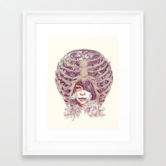 Your Bone Framed Art Print