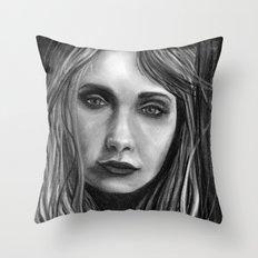 Mysterious M Throw Pillow
