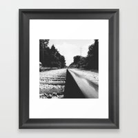 Railroad II Framed Art Print