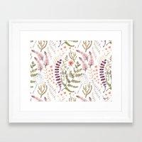 Wild Flora Framed Art Print
