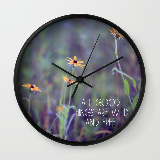 All Good Things (Daisy) Wall Clock