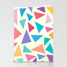 Colorful geometric pattern II Stationery Cards