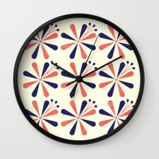 Lime Blossom Wall Clock