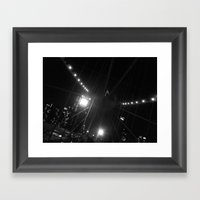 WHITEOUT : Light The Way Framed Art Print