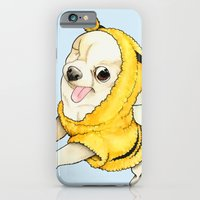 iPhone & iPod Case featuring Chihuahua - YOGURT the pirate dog  by PaperTigress