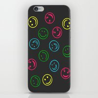 Happy Faces iPhone & iPod Skin