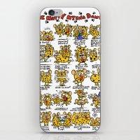 Happy Hyena Dance iPhone & iPod Skin