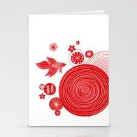 CNY14 By Friztin Stationery Cards