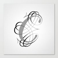 The Letter C Canvas Print