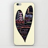 Multilingual Love iPhone & iPod Skin