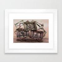 Lebenswege Framed Art Print