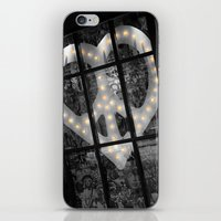 Peace & Love NYC iPhone & iPod Skin