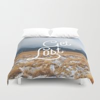 Get Lost Duvet Cover