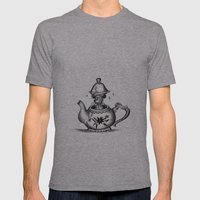 Doormouse Mens Fitted Tee Athletic Grey SMALL