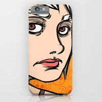 iPhone & iPod Case featuring Rose / The Third by Jill Ross