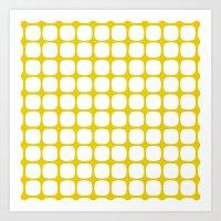 Franzen Yellow Art Print