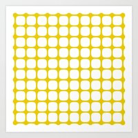 Franzen Yellow Art Print
