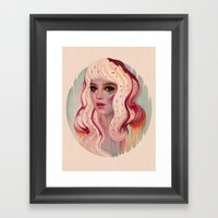 à La Mode Framed Art Print