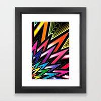 A NEW COLOR Framed Art Print