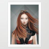 Ignatia (elementals) Art Print