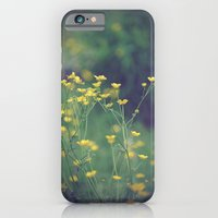 iPhone & iPod Case featuring Buttercups  by Laura Bubar Original Artwork
