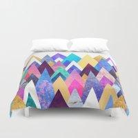 Enchanted Mountains Duvet Cover