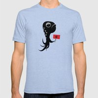 Squid Of No Mens Fitted Tee Tri-Blue SMALL