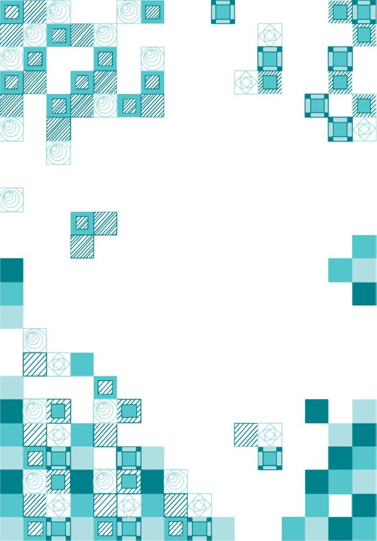 Tiles Art Print