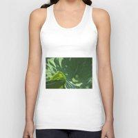 Lotus leaf Unisex Tank Top