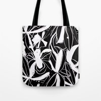 Snowy Forest II Tote Bag