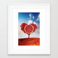 NOVEMBER 3 Framed Art Print