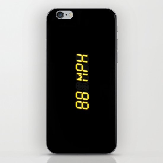 88 mph - Back to the future iPhone & iPod Skin