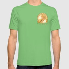 Buffy Summers Mens Fitted Tee Grass SMALL