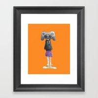 Playstation Framed Art Print