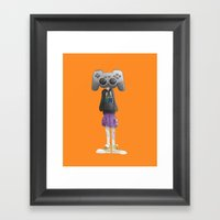 Playstation Framed Art Print