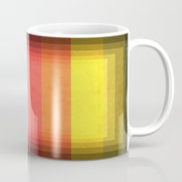 Warm Color Stripes Mug