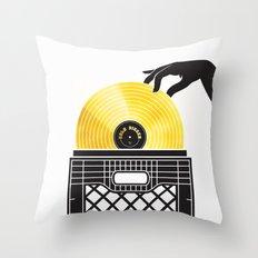 Gold Digger Throw Pillow