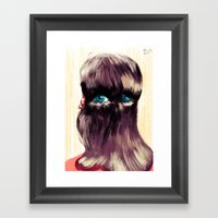 Do You Have Eyes? I Have… Framed Art Print