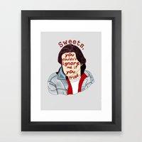 The Breakfast Club - Bender Framed Art Print