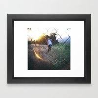 Exploring Framed Art Print