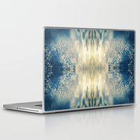 fractal Laptop & iPad Skins featuring Fractal by GBret