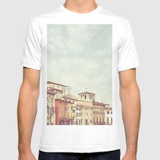 Verona Mens Fitted Tee White SMALL