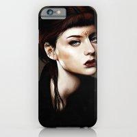 iPhone & iPod Case featuring Zoey Scarlet by Feline Zegers